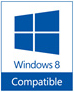 Windows 8 相容性測試通過